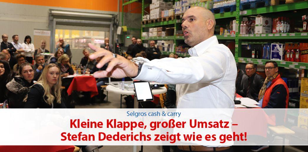 KernImpuls | Stefan Dederichs: Kleine Klappe, großer Umsatz!