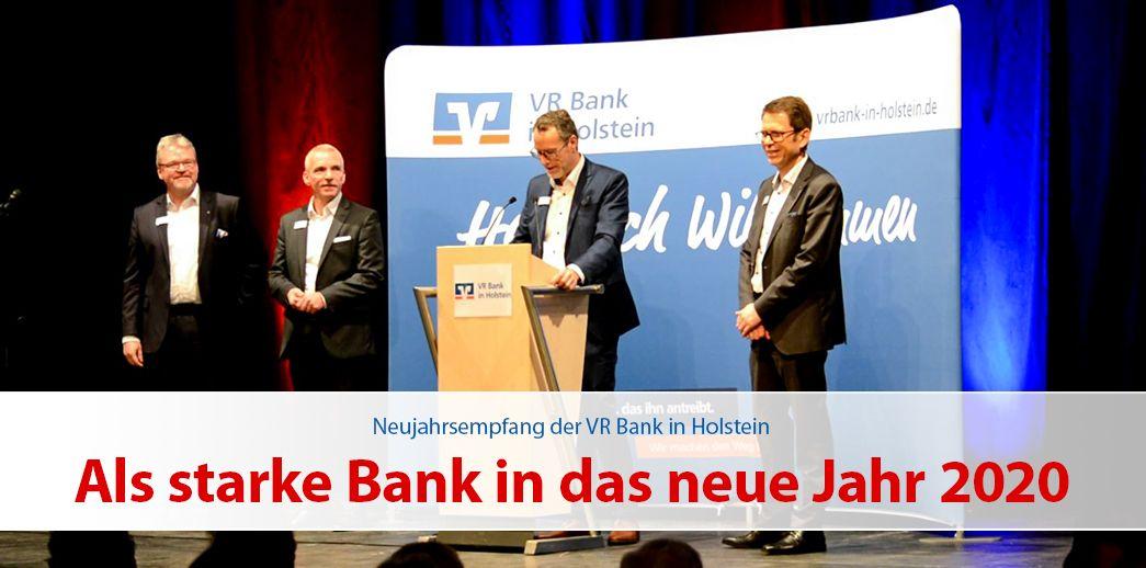 Als starke Bank in das neue Jahr 2020