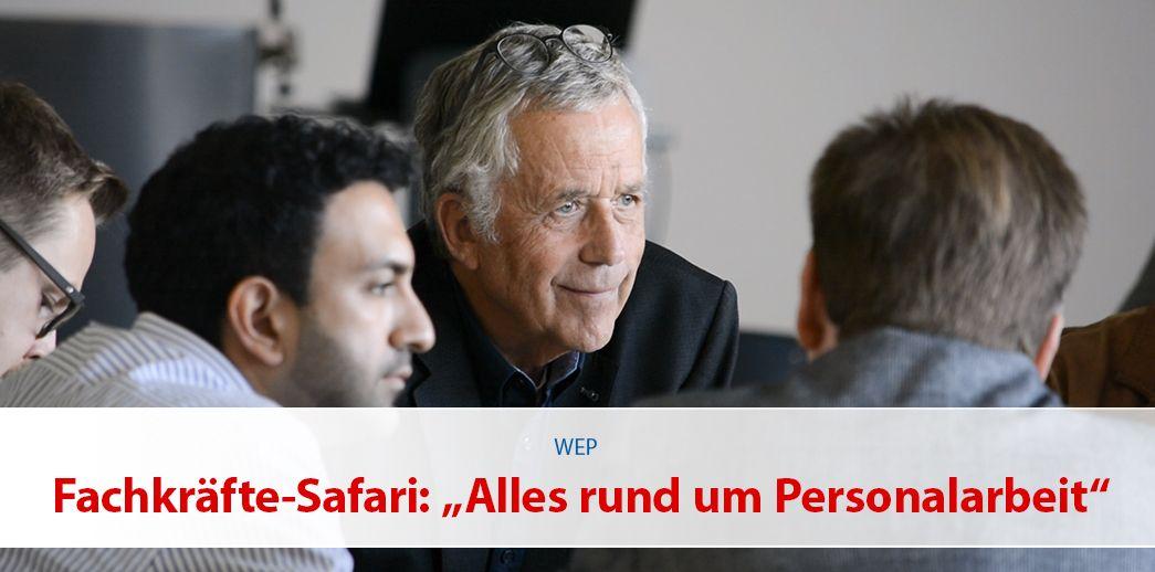 """Fachkräfte-Safari: """"Alles rund um Personalarbeit"""""""