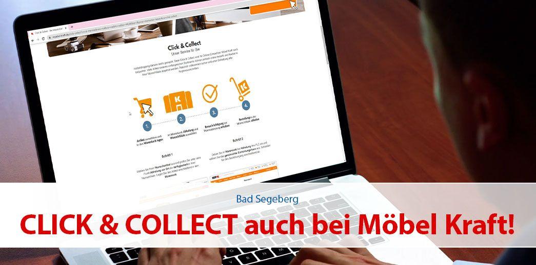 Click & Collect auch bei MÖBEL KRAFT