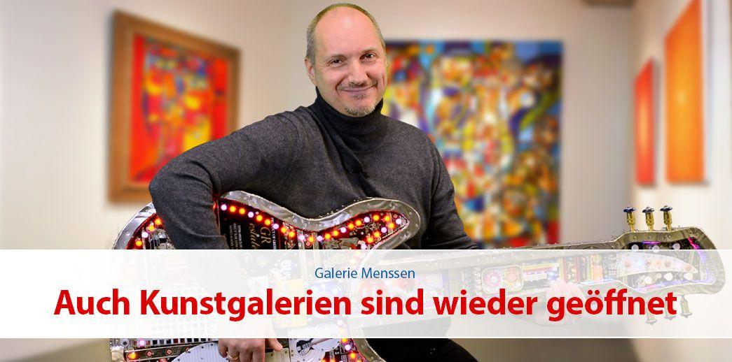 Auch Kunstgalerien sind wieder geöffnet!