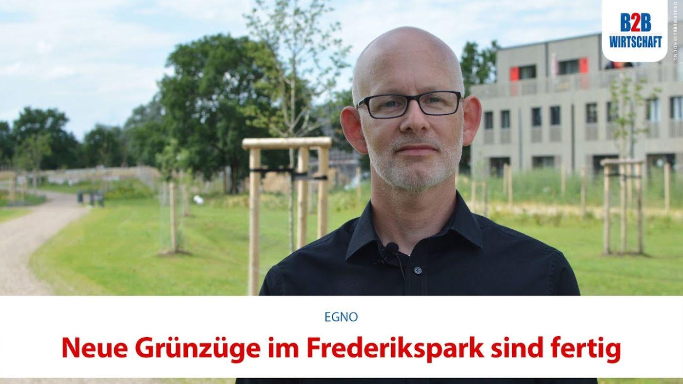 Neue Grünzüge im Frederikspark sind fertig