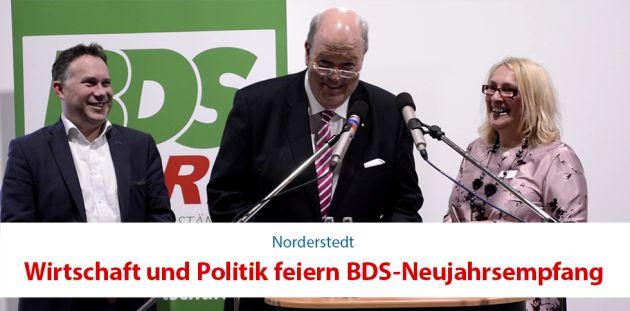 Wirtschaft und Politik feiern Neujahrsempfang des BDS NORD