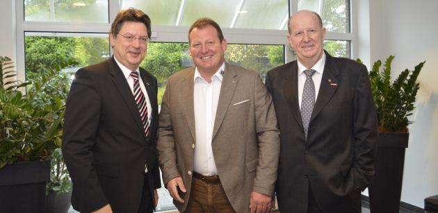 Wirtschaftsminister Meyer würdigt Jens Gottschalk