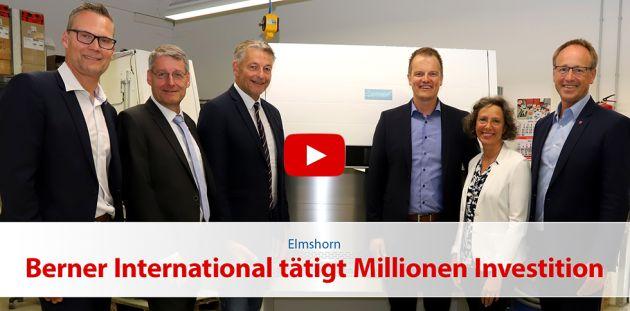 Berner International tätigt Millionen Investition