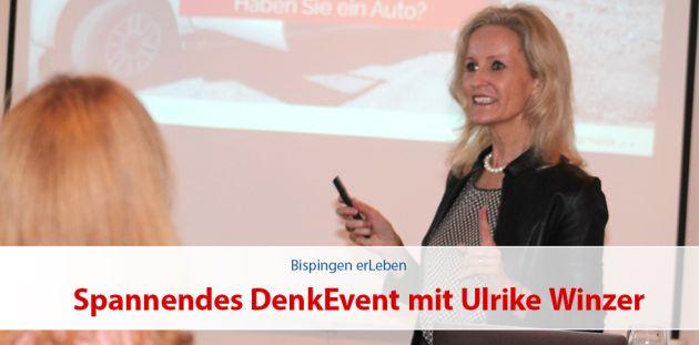 Spannendes DenkEvent mit Ulrike Winzer