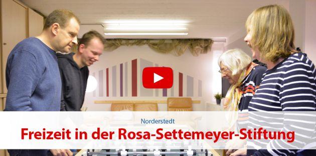 Freizeit in der Rosa-Settemeyer-Stiftung