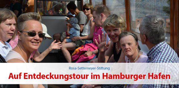 Auf Entdeckungstour im Hamburger Hafen