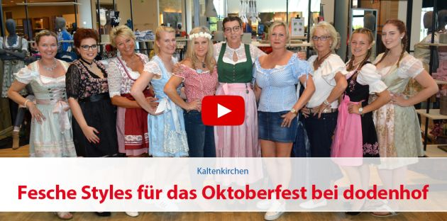 Fesche Oktoberfest-Styles bei dodenhof