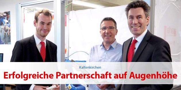 Erfolgreiche Partnerschaft auf Augenhöhe
