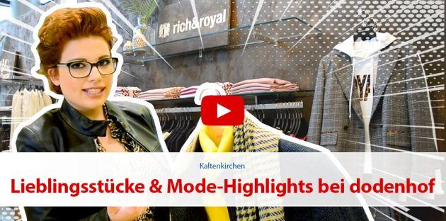 Lieblingsstücke & Mode Highlights bei dodenhof