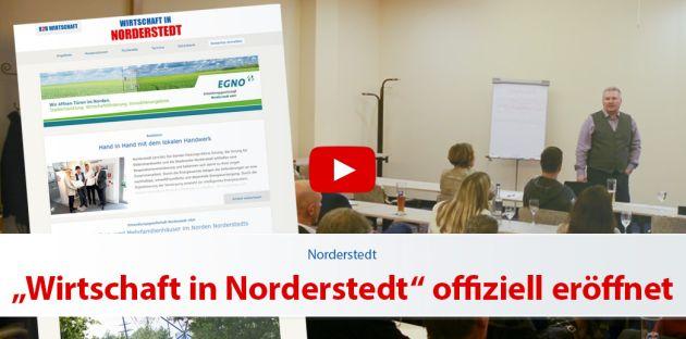 """""""Wirtschaft in Norderstedt"""" ist eröffnet"""