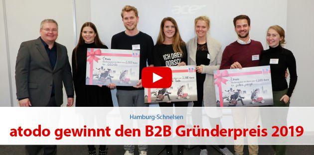 atodo gewinnt den B2B Gründerpreis