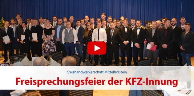 Freisprechungsfeier der KFZ-Innung Segeberg