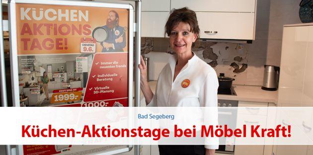 Küchen-Aktionstage bei Möbel Kraft
