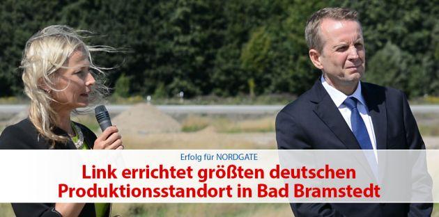 Link errichtet größten deutschen Produktionsstandort in Bad Bramstedt