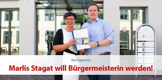 Marlis Stagat will Bürgermeisterin werden!