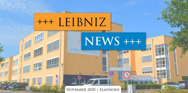 Leibniz News November 2020: Corona Update