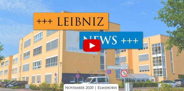 Leibniz News November 2020: Corona Update