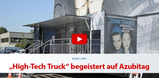 "EGNO   HPS: ""High-Tech Truck"" begeistert auf Azubitag"