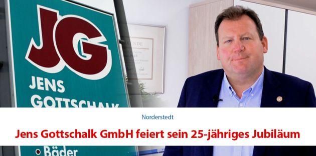 Jens Gottschalk feiert 25-jähriges Jubiläum